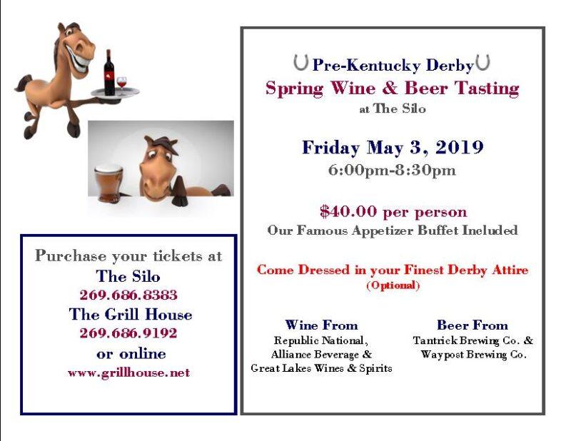 2019 Spring Wine Tasting Kentucky Derby May 3, 2019